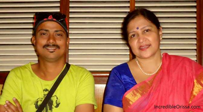 Arun Mantri and Trupti Das