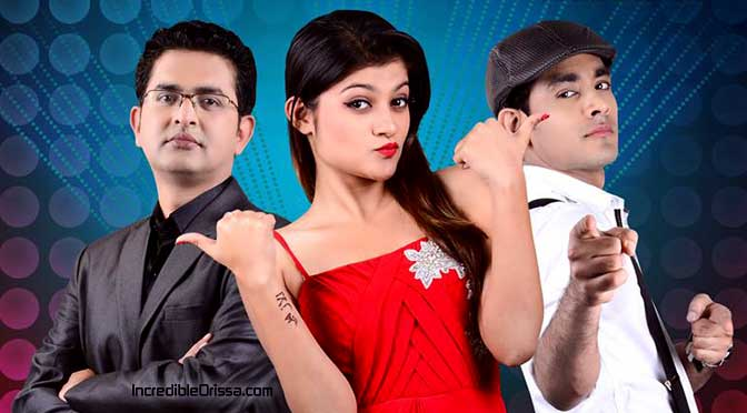 Prakruti Mishra and Harihar in TV show